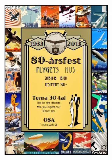 inbjudan öppet hus 50 år Fest – Linköpings Flygklubb inbjudan öppet hus 50 år