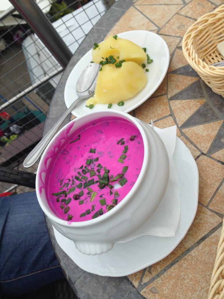 Šaltibarščiai - en litauisk specialitet