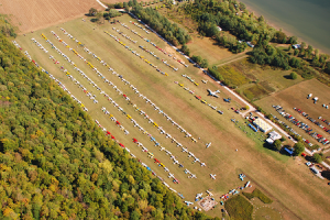 2007fly-in overhead just before starting to double up